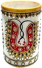 Decorativo Hecho a mano Kundan Mármol Obra maestra Pedestal Hogar Decoración Regalo Artículos