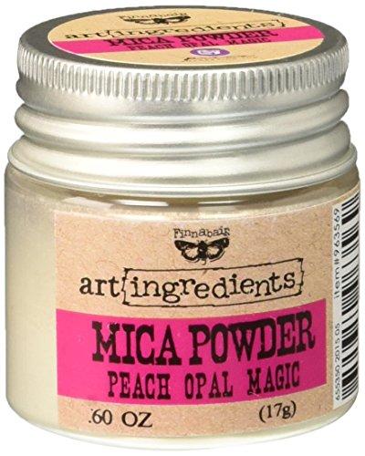 Prima Marketing 963569 Finnabair Art Ingredients Mica Powder, 0.6 oz, Iridescent Peach