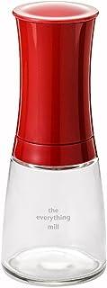 Kyocera Kräuter- und Gewürzmühle The everything mill mit verstellbarem Keramikmahlwerk, Höhe: 16 cm Keramik 21x7x7 cm, rot, CM-20C-RD