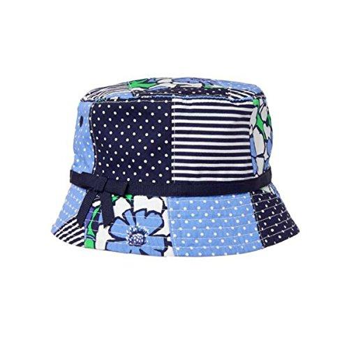 Gymboree Blue Patchwork Bucket Hat (6-12 Mos)