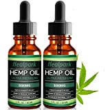 Best Hemp Oils - (2 Pack) Hemp Oil 5000mg for Pain Relief Review