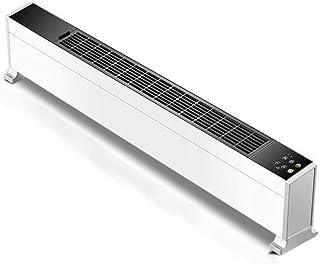 MYYINGELE Portátil Calefactor Portátil Eléctrico, Potencia Regulable de 2200 W, termostato, función Silence, 2 Configuraciones de Temperatura, Protección contra Sobrecalentamiento Regalos de Invierno