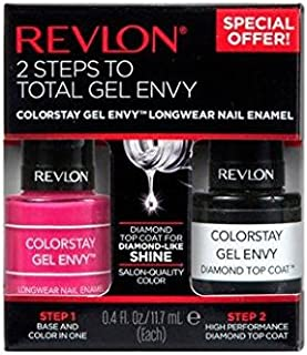 Revlon ColorStay Gel Envy Value Packs, Royal Flush + Top Coat