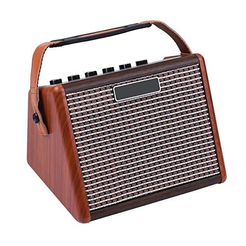 QING.MUSIC Musical Instrument accessories Amplificador de batería electrónico portátil Altavoz de Guitarra...