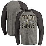YUNMO Rugby La Nouvelle-Orléans Saints Jeu Formation Porter T-Shirt Décontracté Sweat À Manches Longues (Size : XXL)