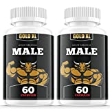 (2 Pack) Gold XL Pills for Men Advanced Support Supplement (120 Capsules)