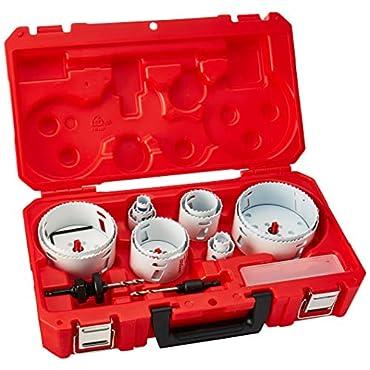 Milwaukee 49-22-4155 Master Plumbers Ice Hardened Hole Saw Kit, 18-Piece