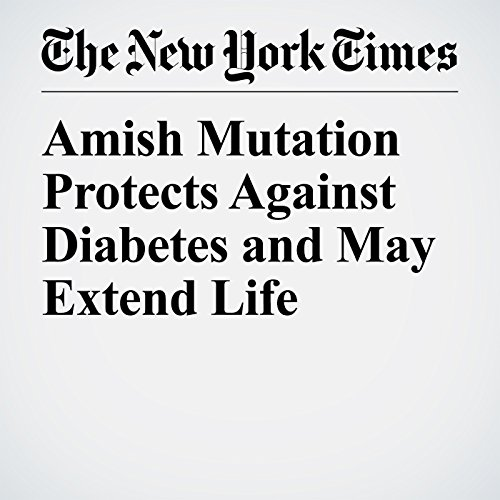 Amish Mutation Protects Against Diabetes and May Extend Life audiobook cover art