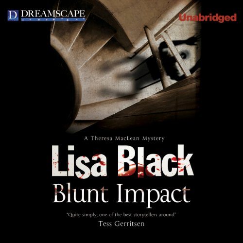 Blunt Impact audiobook cover art