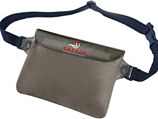 SHAPLO (™) 100% Waterproof Pouch with Waist Strap,  X-Large Dry Bag to Safely Protect Your Phone,  Keys,  Money and Valuables from Dust,  Water,  and Thieves While Boating,  Water Park,  or Seaworld