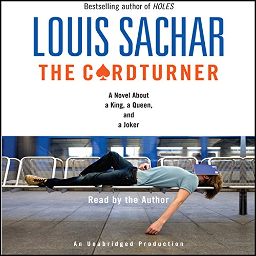 The Cardturner audiobook cover art