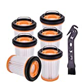 Garbage fighter Replacement Fabric Vacuum Filter Compatible with Shark ION...