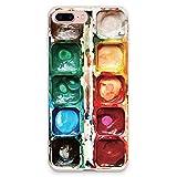 CasesByLorraine, custodia per iPhone 8e iPhone 7, iPhone 8Plus e iPhone 7Plus, modello grazioso, custodia morbida, A23 Style 2, iPhone 7 Plus / iPhone 8 Plus Soft Case