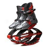 HLDUYIN Mini-Trampolin Jumping Schuhe Bounce Schuhe Teen Sport Bounce Fitness Schuhe Dunk Schuhe Mehrere Größen - Small, Medium, Large,Gray1,S