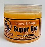 B&B Super Gro Conditioner 6 oz (HONEY & GINGER WITH JOJOBA)