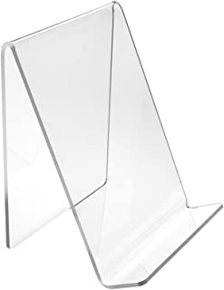 Source One Medium Clear Acrylic Book Easels Premium Thick (3 Pack)