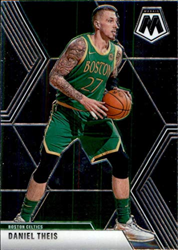 2019-20 Panini Mosaic #129 Daniel Theis Boston Celtics Basketball Card