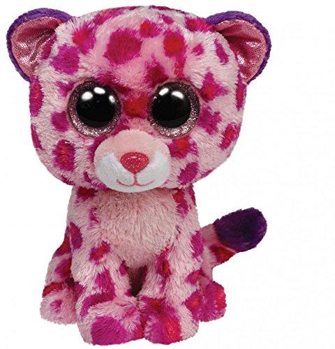 ty-36085 Beanie Boos Glubschie`s *GLAMOUR - LEOPARD pink* 15 cm *NEU*