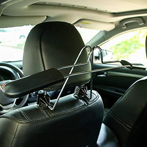 Preisvergleich Produktbild Auto Teleskopaufhängung Auto einziehbares Auto Multifunktions-Rack Auto mit Edelstahl-Anzug Vier Jahreszeiten hängende Kleidung Stuhl zurück Kleiderbügel