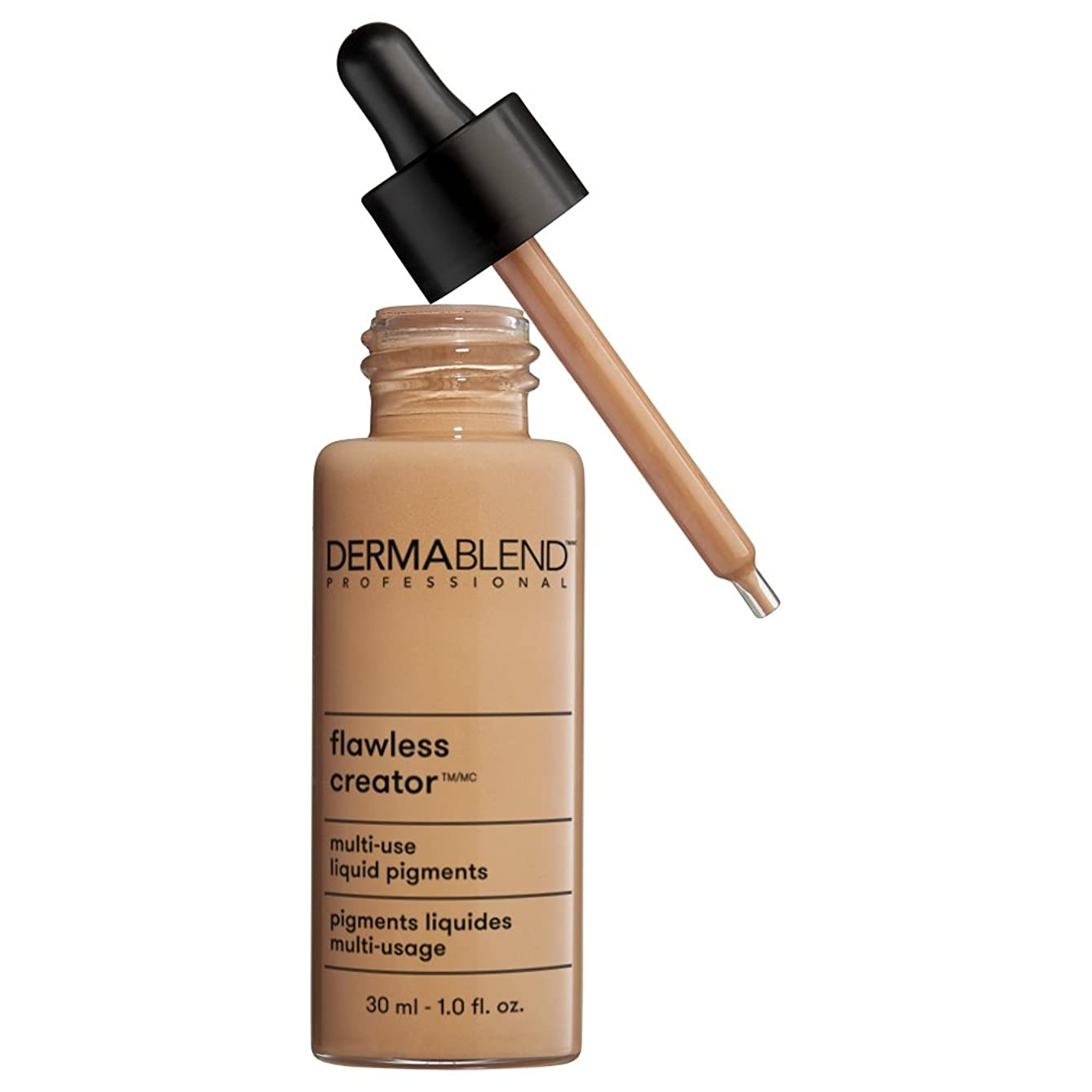 微生物聖人発生器ダーマブレンド Flawless Creator Multi Use Liquid Pigments Foundation - # 43N 30ml/1oz並行輸入品