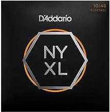 D'Addario NYXL1046 Nickel Plated Electric Guitar Strings, Regular Light,10-46 – High Carbon Steel Alloy for Unprecedented ...