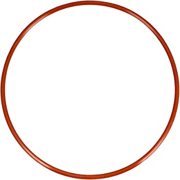 sourcing map 1pcs Silikon O-Ring VMQ Siegel Ring Dichtung Rot 125mmx118mmx3,5mm DE de