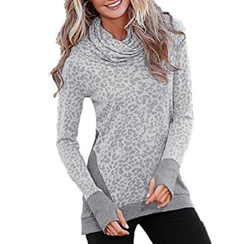 NEARTIME Women T Shirt, Loose Long Sleeve Pullover Casual Tops (XXXL)