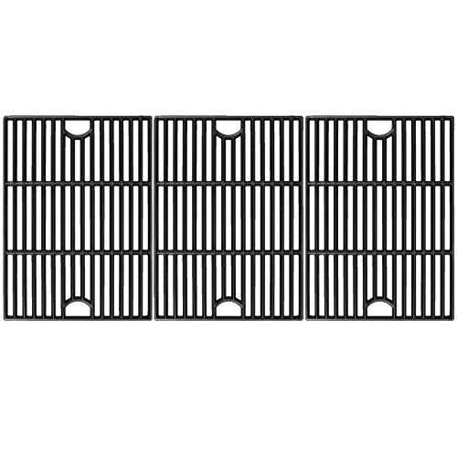 Utheer 17 Inch Cooking Grid Grate for Nexgrill 4 Burner 720-0830H, 5 Burner 720-0888 720-0888N 720-0888S, 720-0697, 720-0783E, Compatible with Kenmore 720-0670A, Members Mark, Uniflame Grill, 3 PCS