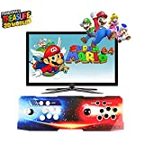 Pandora Treasure II Arcade Game Console | 4250 Retro HD Games | Support 3D Games | Search/Save/Hide/Pause/Add More Games | 1920x1080 Full HD | Support 4 Players Online | 2 Player Game Controls