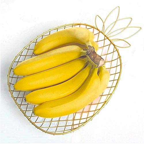Nordic Style Metal Kitchen Fruit Basket - Pineapple Shape...
