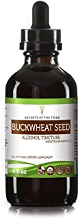 Buckwheat Seed Tincture Alcohol Extract, Organic Buckwheat (Fagopyrum Esculentum) Dried Sprouting Seed Tincture Supplement (4 FL OZ)