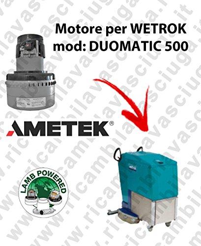 Duomatic 500 motor Lamb Ametek voor WETROK vloerwissers.