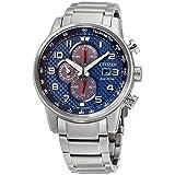 Citizen Primo Eco-Drive Blue Dial Men's Watch, Silver-tone, Size No Size