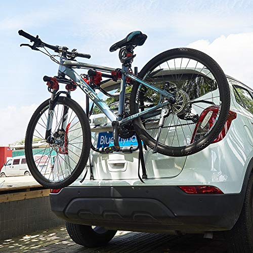ZIGLY Bicycle Carrier Trunk Mount Rack for SUV Car Heavy Duty 3 Bike Carrier Mount