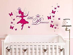 2 Grossen Kinderzimmer Madchen Wandaufkleber Wandtattoo Name Kleine Prinzessin Children S Bedroom Girl Decor Decals Stickers Vinyl Art Home Garden