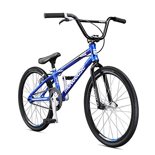 Mongoose Unisex-Youth Title Expert Race Racing, Kinder BMX, Blue, one Size
