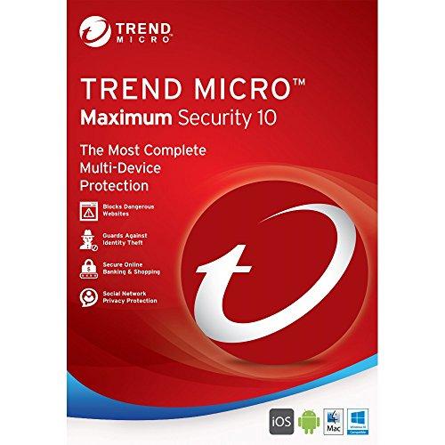 TREND MICRO - Maximum Security Licenza per 3 Dispositivi per 1 Anno - Licenza ESD (Electronic Software Distribution)