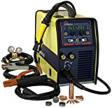 CANAWELD MIG Pulse Welder 200 Amp Inverter Flux Cored Welder Stick Tig Multi Process Welding Machine 220 V for Aluminum, Stainless Steel, Premium MIG Torch CSA Approved Made in Canada 3 Years Warranty