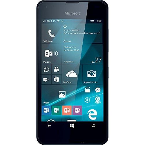 Microsoft Lumia 550 Smartphone da 8GB, Nero [Italia]