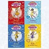 Daisy Meadows Rainbow Magic Collection Special Fairy 4 Books Set (Belle The Birthday Fairy,Emma The Easter Fairy,Natalie The Christmas Stocking Fairy,Trixie The Halloween Fairy)