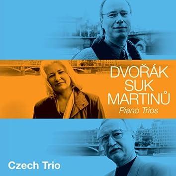 Dvorak, Suk, Martinu: Piano Trios