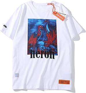 CTNMB HERON PRESTON Mens Heron Bird T-shirt