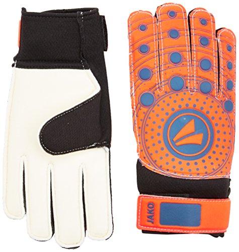 JAKO Erwachsene TW-Handschuhe Junior 3.0 Torwarthandschuh, Flame/Night Blue, 8