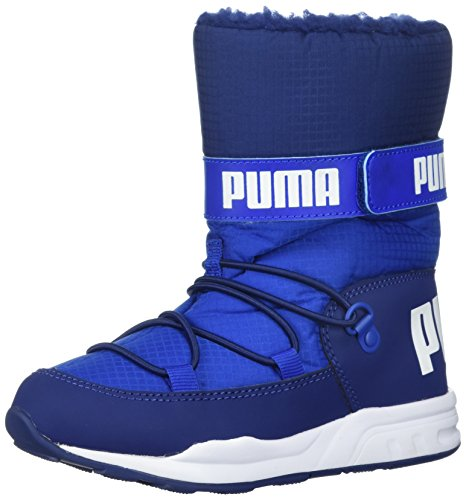 PUMA Baby Kids Trinomic Boot Sneaker, Lapis Blue-Blue Depths, 7 M US Toddler