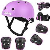 Ledivo Kids Bike Helmet, with Sports Protective Gear Set...