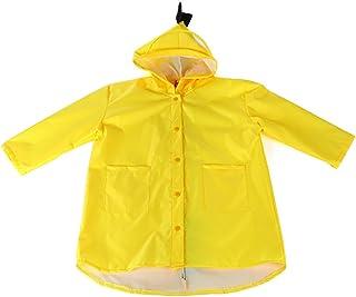 Janjunsi 子供用 ポンチョ レインコート キッズ 雨具 恐竜柄 かわいい 小学生 便利 通学 超軽量