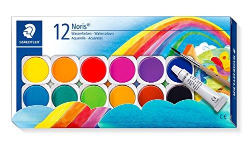 Staedtler Noris Club 888 NC12. Acuarelas para colorear. Caja