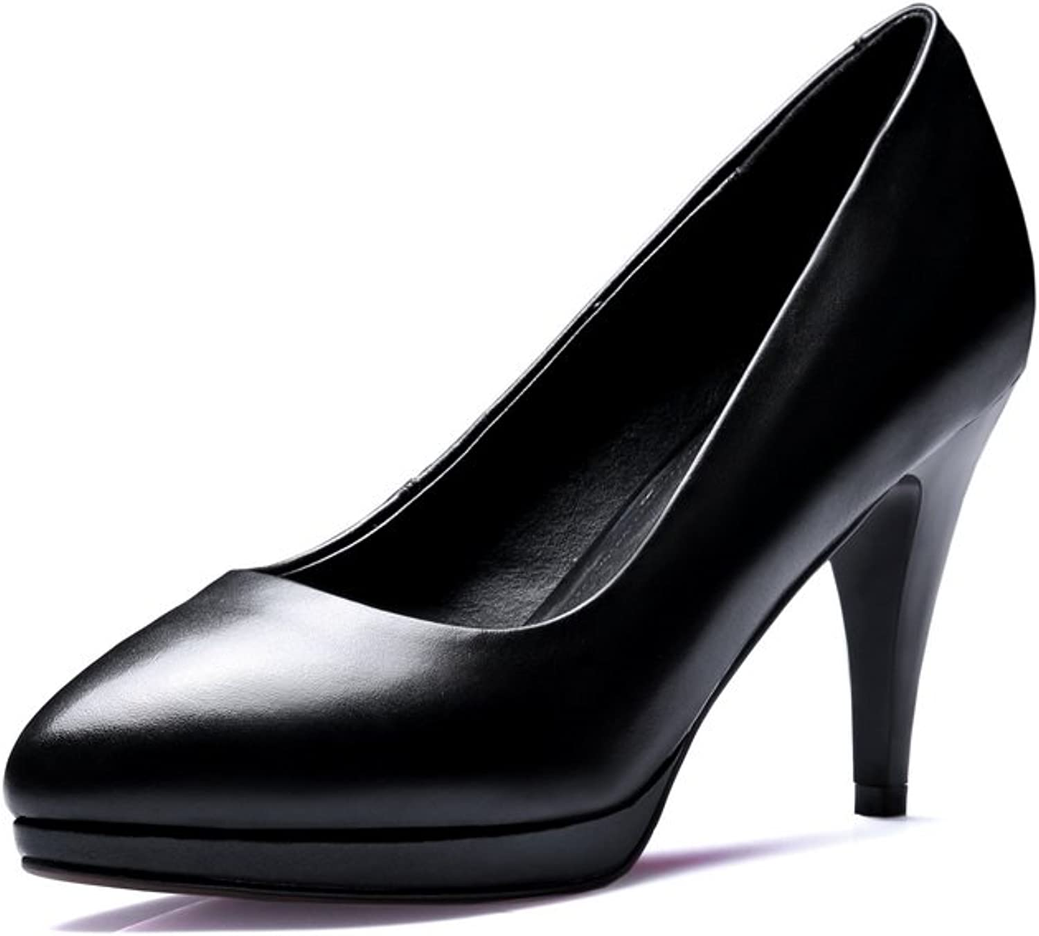1TO9 Womens Spikes Stilettos No-Closure Solid Platform Pointed-Toe Urethane Pumps shoes MMS05257