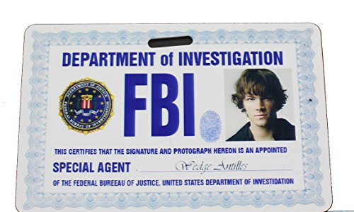 FBI Supernatural Sam ID Badge