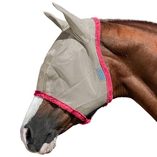Horseware Amigo Fly Mask Fliegenmaske argento/grigio scuro + UV Schutz